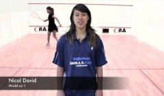 Movement basics with Nicol David