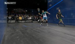 Volleying from behind your opponent