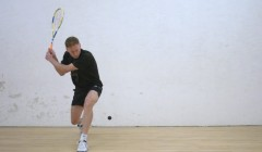 Forehand technique