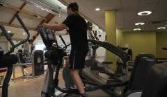 Gym machines: Cross-trainer