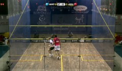 Pro player analysis: Ramy Ashour's backhand punch volley