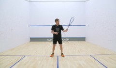 How to keep the racket face open