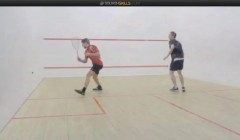 Attacking in the front backhand - amateur swing school