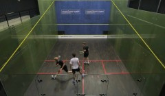 Rotating drives with a option to cross court nick and...