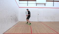Forehand movement pattern