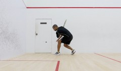 Attacking from the deep backhand
