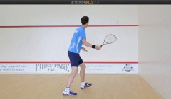 Forehand hold technique