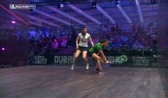 Volleying from in front of your opponent