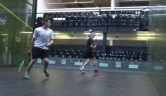 Rotating drives with option to cross court nick and drop,...