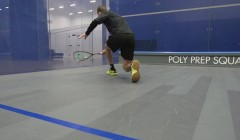 Backhand from the front