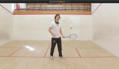 Beginner course: forehand volley