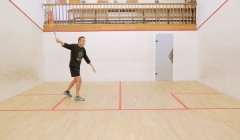 Common faults on the serve from the right side