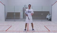 Routine to practice boast - straight volley
