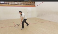 Beginner course: backhand cross court drive