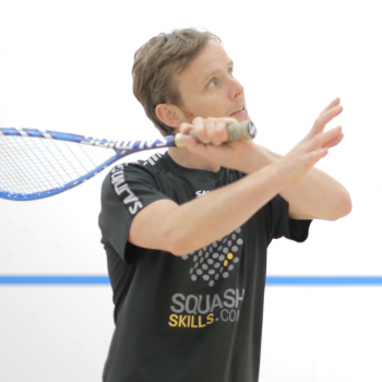 Utilising shot & ghost drills for squash-specific conditioning