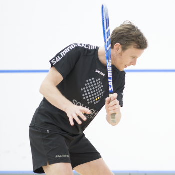 In squash, you never stop learning!
