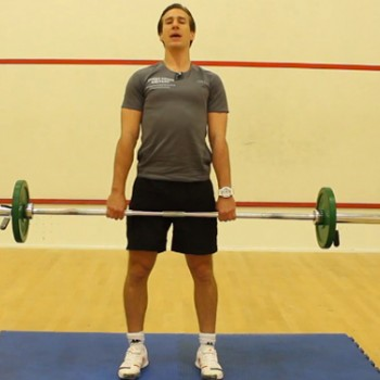 Intro to resistance/weights training for squash