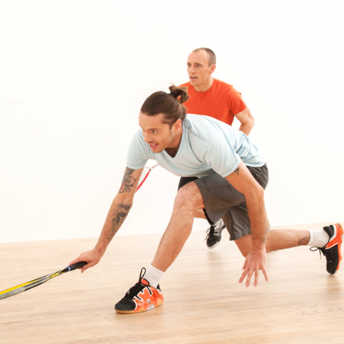 Fitness training specificity for squash players