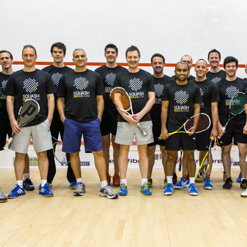 Movement focused squash coaching camp