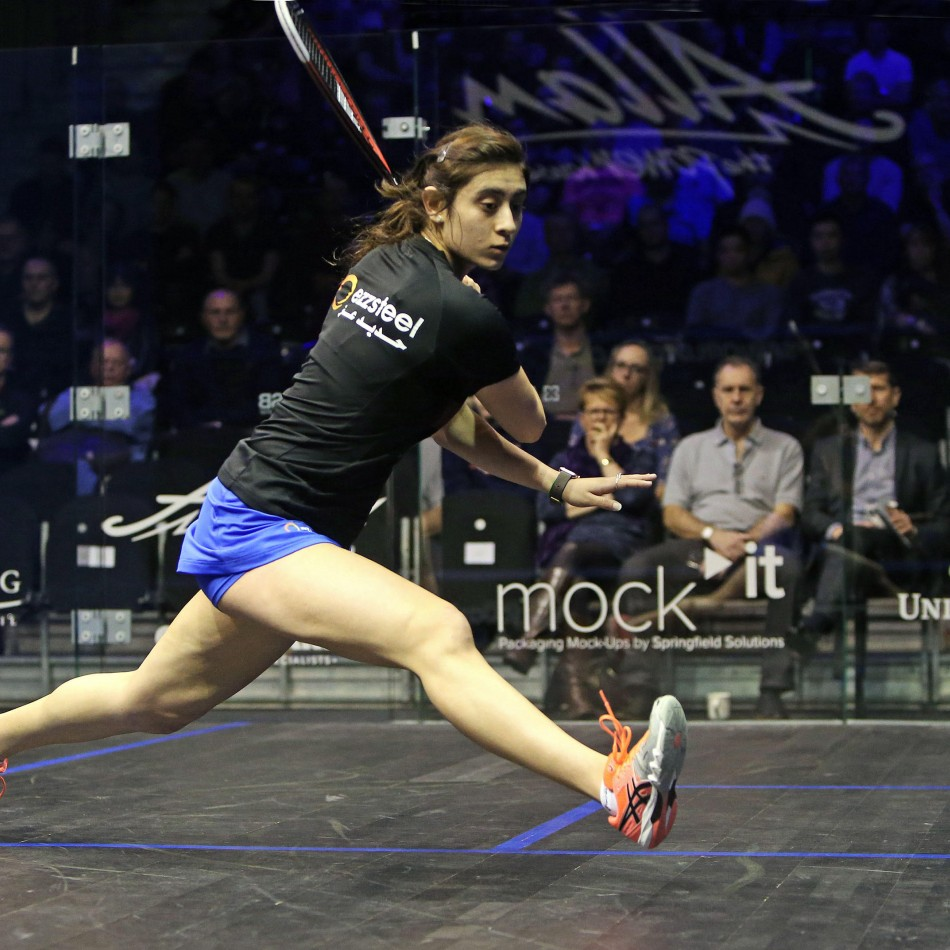nour el shorbini attacking squash